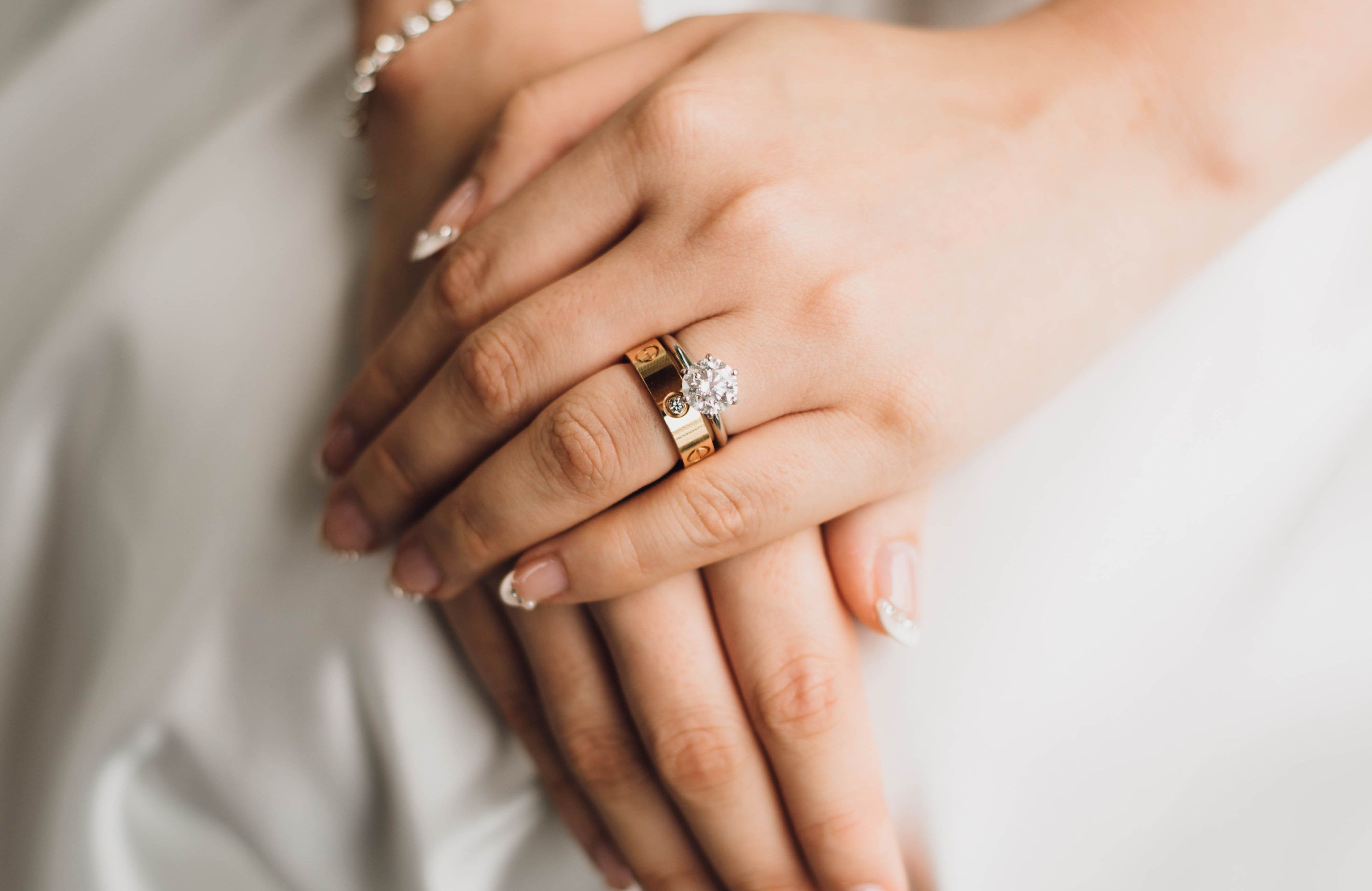 Do You Wear Your Engagement Ring When You Get Married Steven Stone