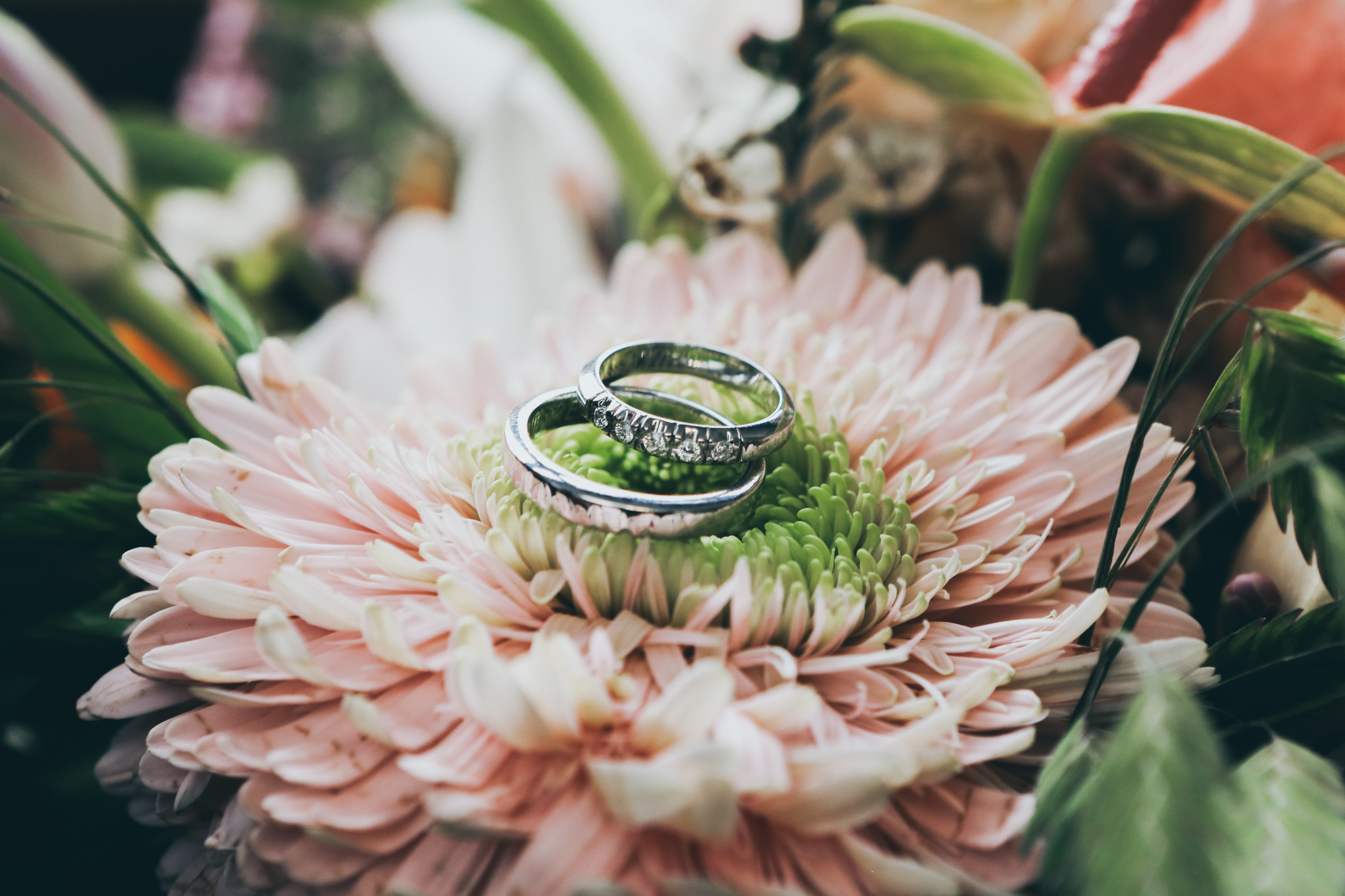 Do you wear your engagement ring when you get married?