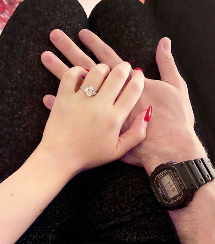 The special meaning behind Kat Dennings' £125K engagement ring