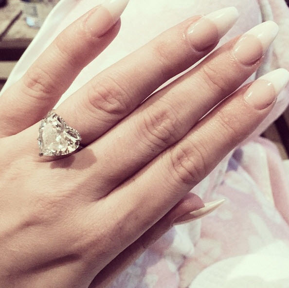 Why we still are STILL loving Lady Gaga's heart shaped engagement ring