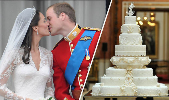 The most expensive piece of Royal cake ever to be sold at auction