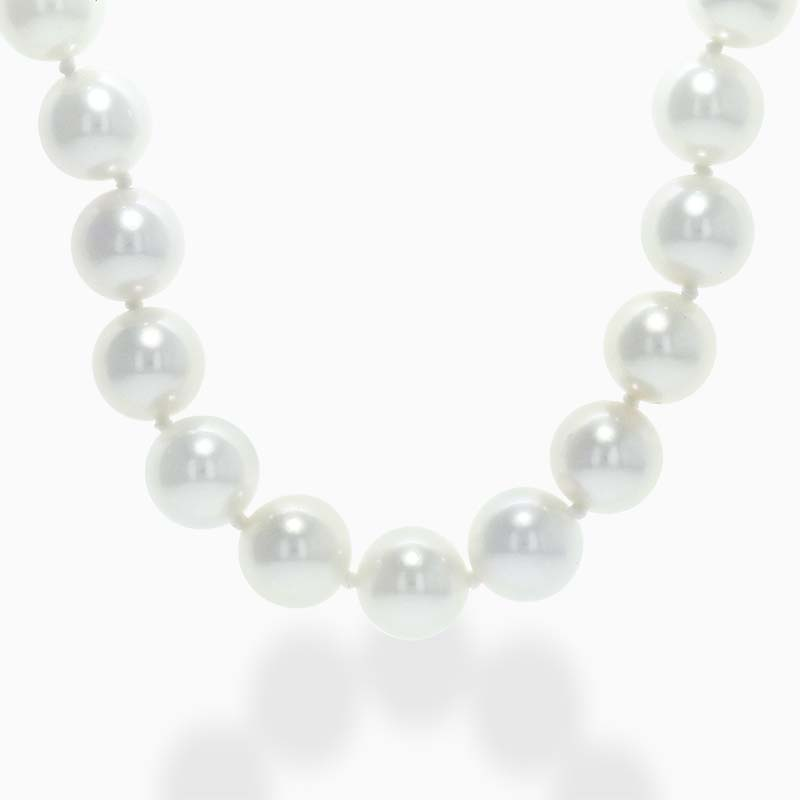 Akoya Pearl Necklace with 18ct White Gold Clasp