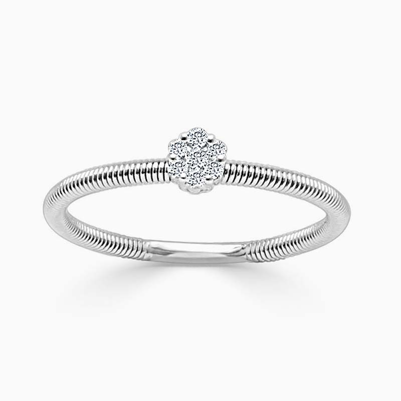 18ct White Gold Florence Diamond Ring