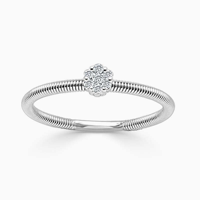 18ct White Gold Florence Diamond Ring
