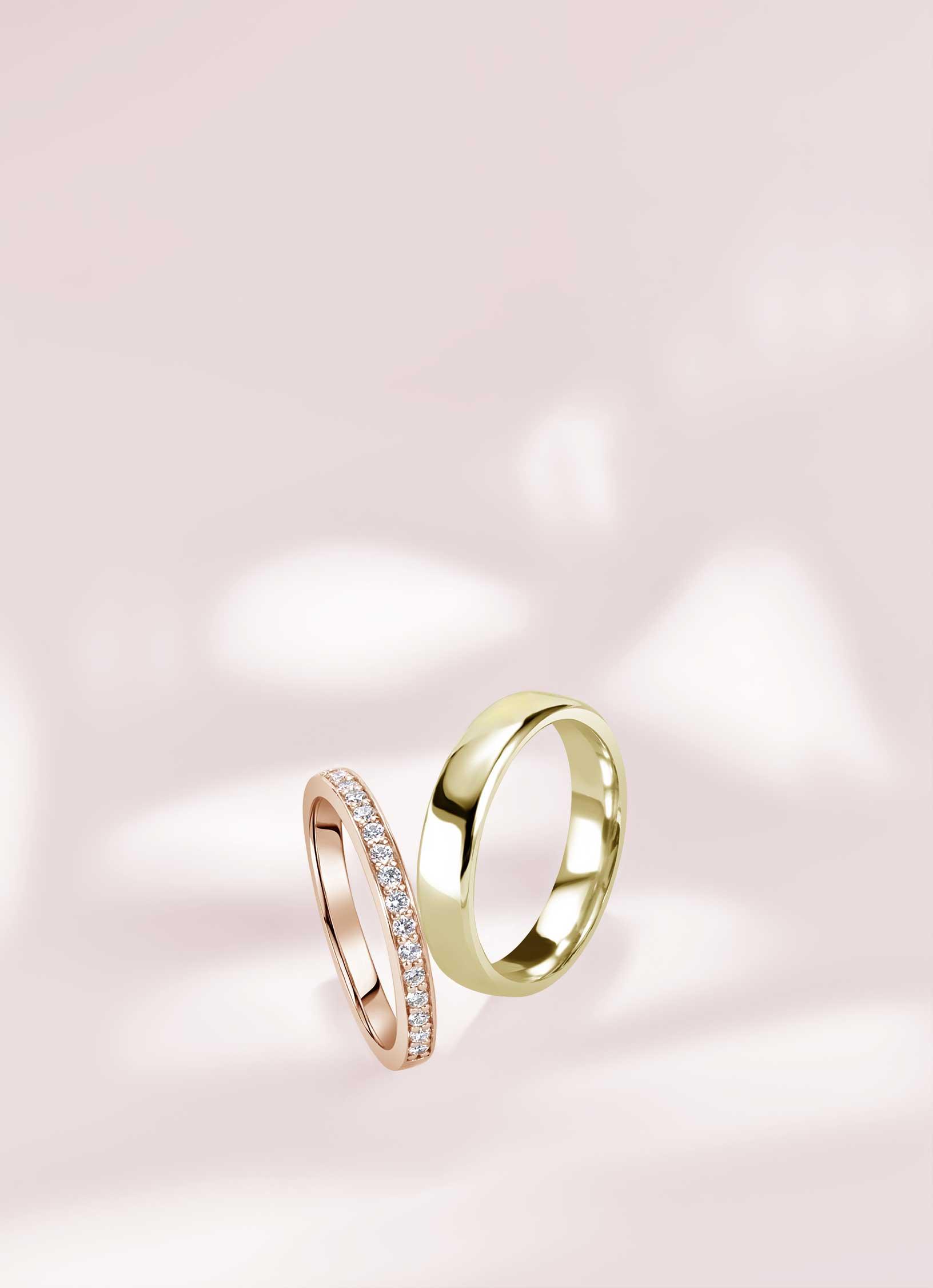 Wedding Rings - Steven Stone