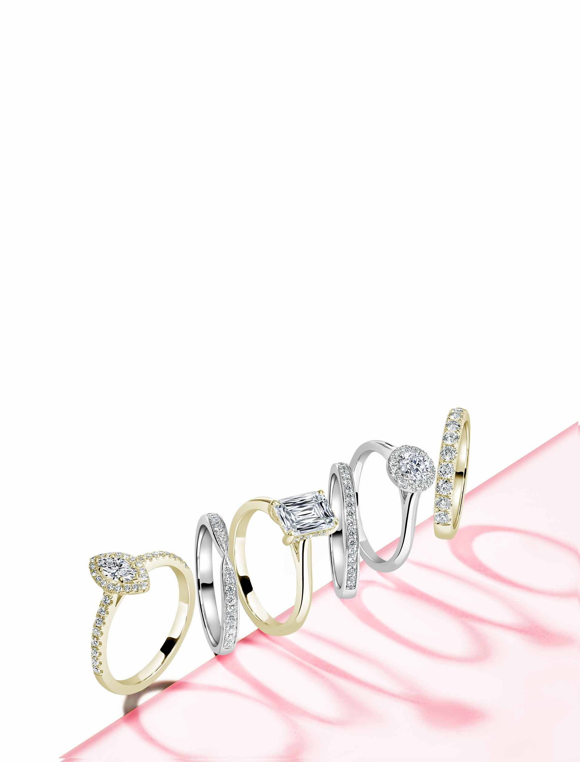 Yellow Gold Engagement Rings - Steven Stone