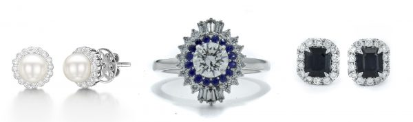 1930 wedding inspiration - bridal jewellery and engagement rings