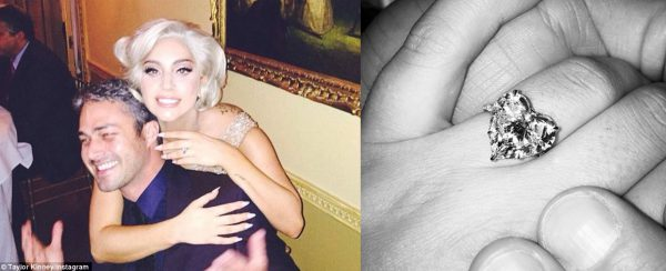 lady gaga diamond engagement ring