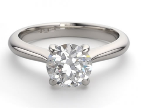 Claw engagement ring setting