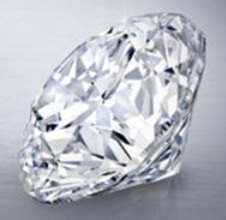 D flawless round brilliant diamond at auction