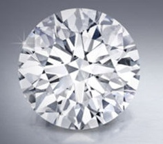 D flawless round brilliant diamond