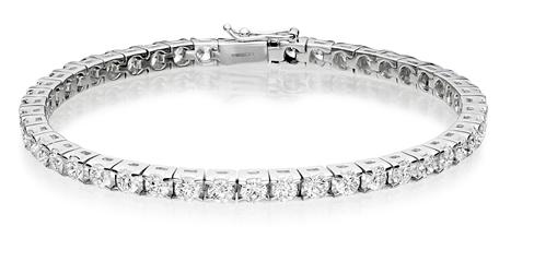 Diamond line bracelet jewellery