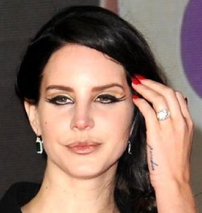Lana Del Rey engagement ring