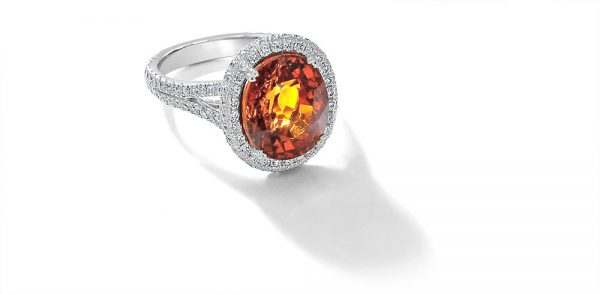 Oval-Spessartite-and-Diamond-Halo-Ring