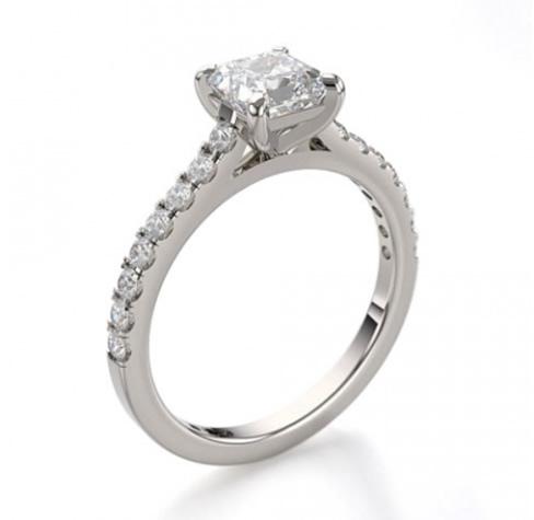 Wedfit diamond engagement ring