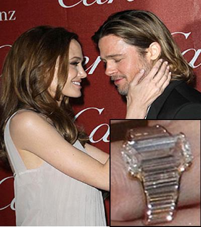 angalina jolie engagement ring