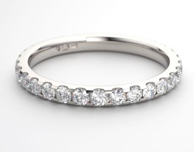 cut down eternity ring