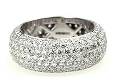 dazzling diamond sress ring