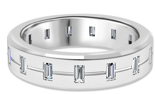 mens wedding rings diamond