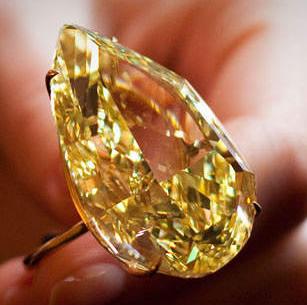 pear shaped fancy diamond
