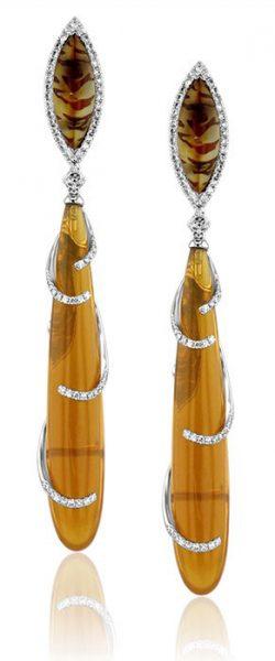 drop earrings style