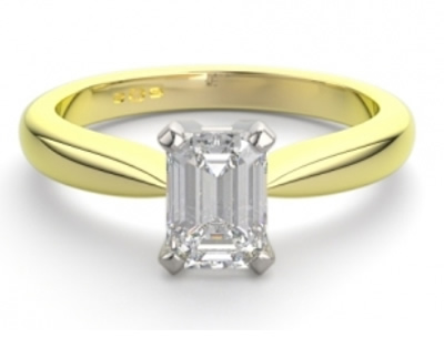 emerald engagement ring design