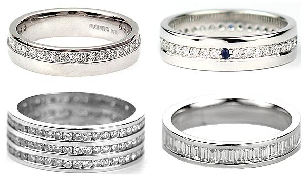 styles of eterenity rings