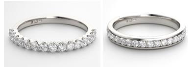 diamond eternity ring settings