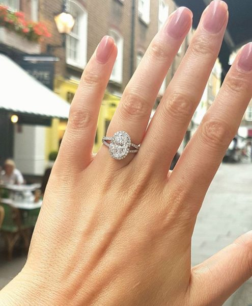 Image for Diamond Engagement Ring that suits her