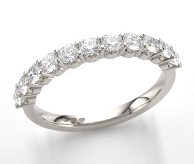 claw set eternity ring