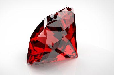 large red diamond
