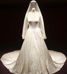 Kate Middleton wedding dress display makes £15 million for the royal palace