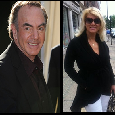 neil diamond engaged