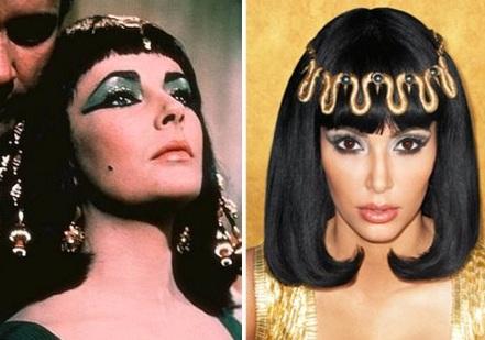Kim Kardashian photo shoot inspired by her idol Elizabeth Taylor