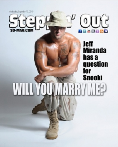 magazine cover marriage proposal