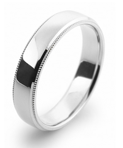 migraine patterned wedding ring