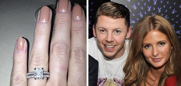 millie mackintosh engagement ring