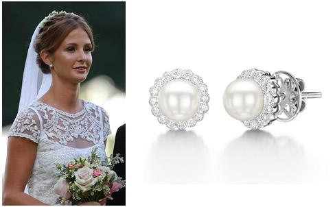millie mackintosh pearl and diamond earrings