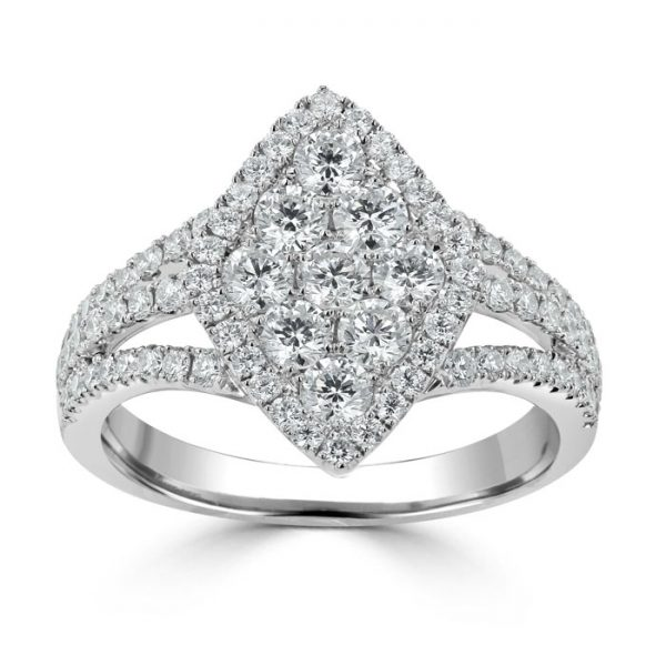 white gold stacking engagement ring trends