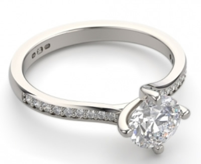 north east south west engagement ring