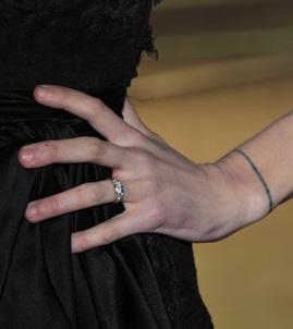 Peaches Geldof engagement ring