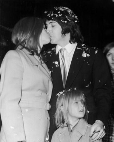 paul mccartney and linda mccartney wedding