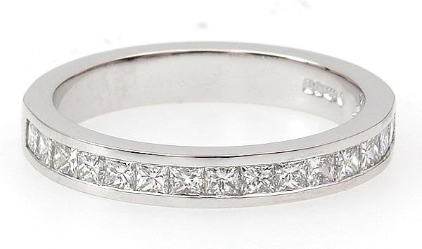 princess cut diamond eternity ring