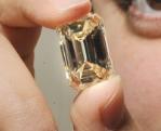 rare white emerald cut diamond