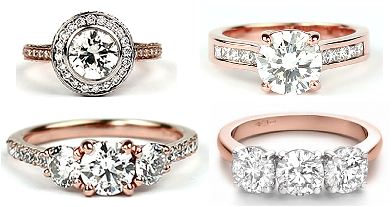 The Beauty Of Rose Gold Engagement Rings Steven Stone