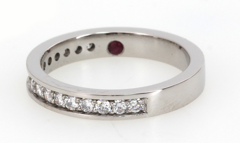 diamond and ruby wedding ring
