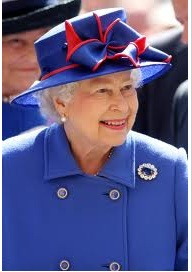 the queens sapphire and diamond brooch