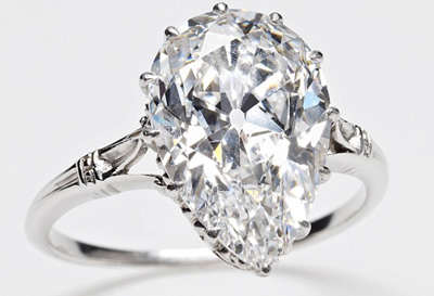 smallest cut Cullinan diamond ring