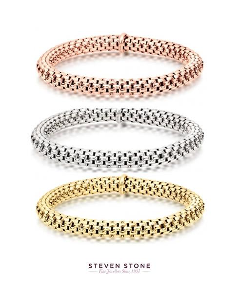 strechy mesh bracelets