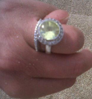 Tara Reid Engagement Ring
